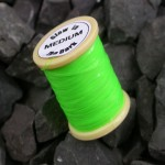 Medium Glow Tinsel - Lime