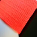 Micro Chenille - Flu Orange