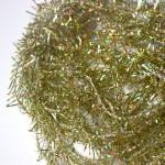 Gold Holographic Straggle - Undyed