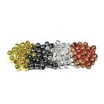 Slotted Tungsten Beads 3.5mm