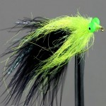 Large Crystal hackle - Fl Yellow